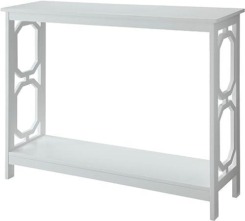 Office Star Sierra Solid Wood Foyer Table, Ash Finish