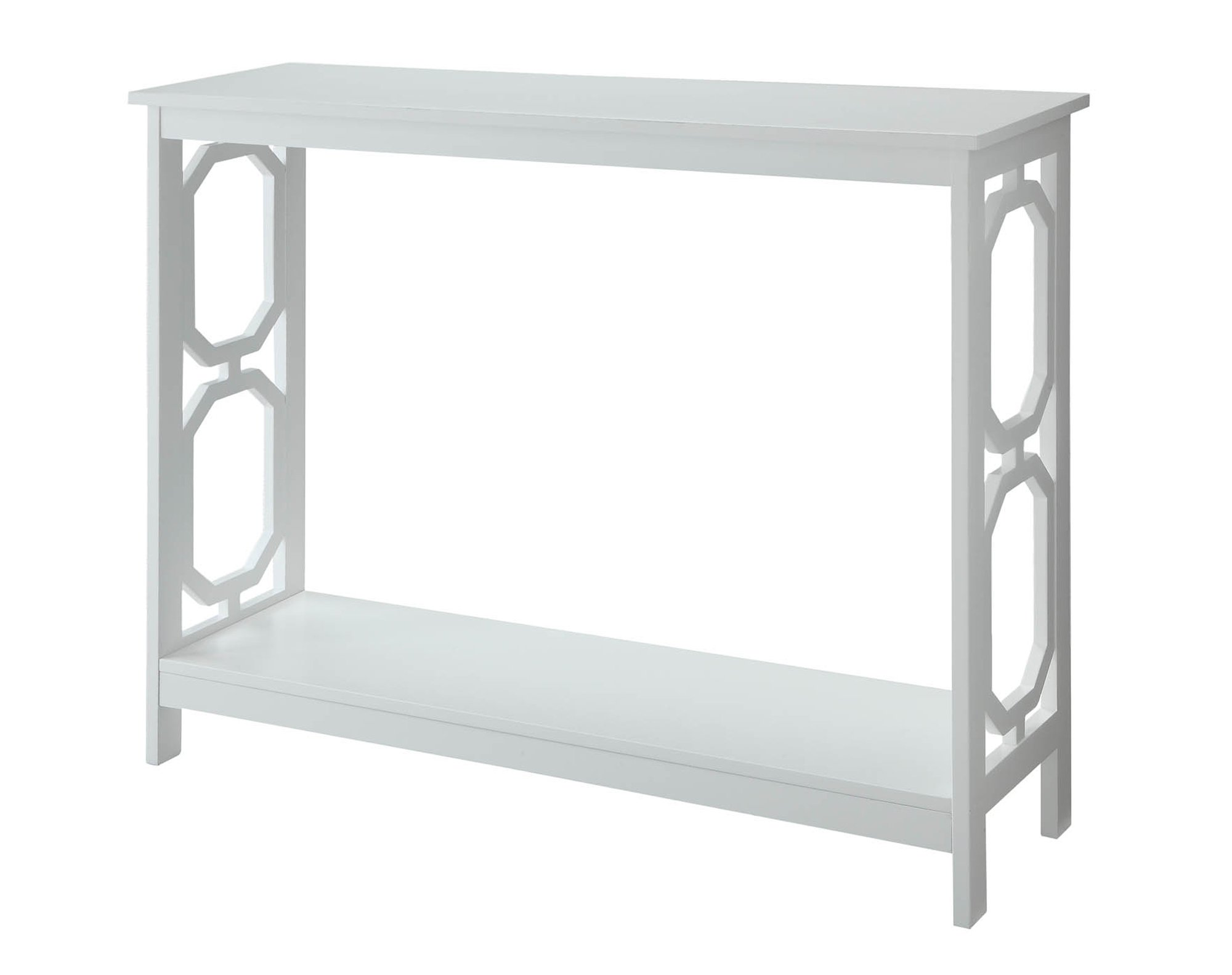 Convenience Concepts Omega Console Table, White by Convenience Concepts (Image #1)