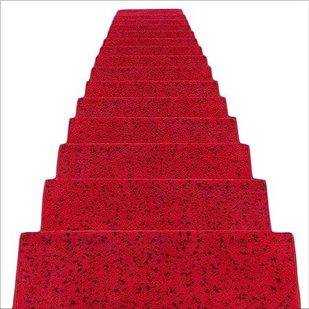 JIAJUAN Alfombra De Escalera Rectángulo Alfombras Peldaños Durable Suelo Duro Escaleras Paso Esteras Moderno, 5 Colores, 4 Tallas (Color : B-1 pcs, Tamaño : 65x24x3cm): Amazon.es: Hogar