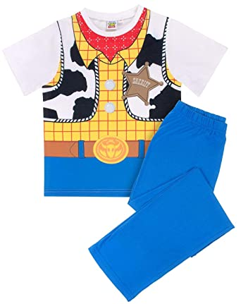 89fbed16d Image Unavailable. Image not available for. Color: Disney Toy Story Woody  Costume Dress Up Kid's/Children's PJ ...