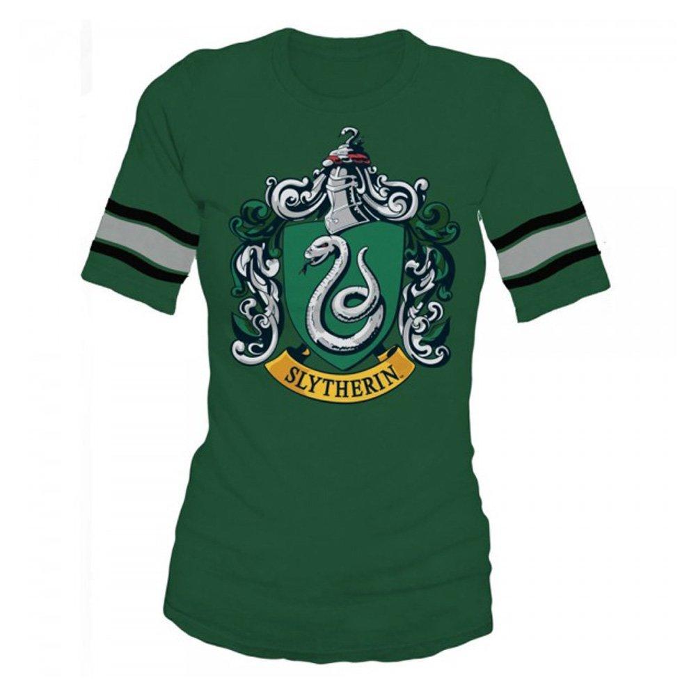 Bluestar Harry Potter Slytherin Green Hockey Tee 2 7066 Shirts