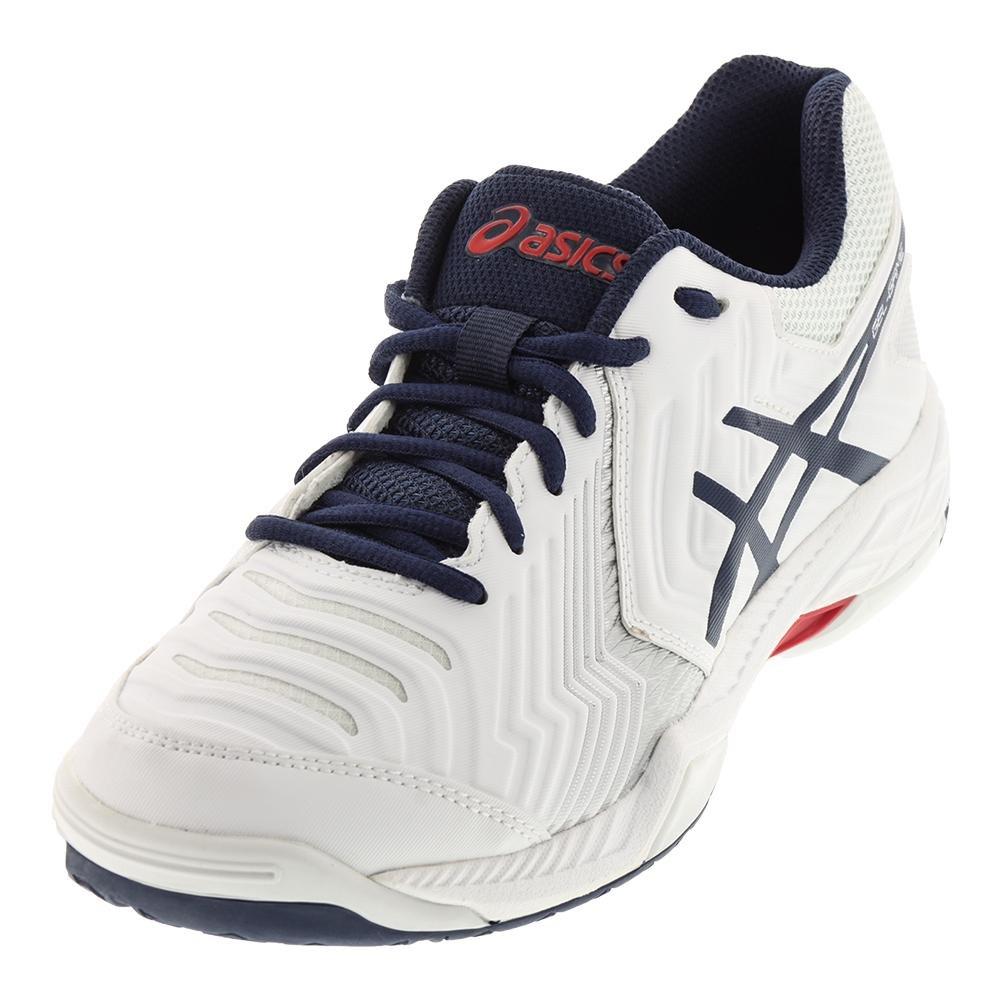 ASICS Men's Gel-Game 6 Tennis Shoe B0716SG3YG 10 D(M) US|White/Insignia Blue/Silver