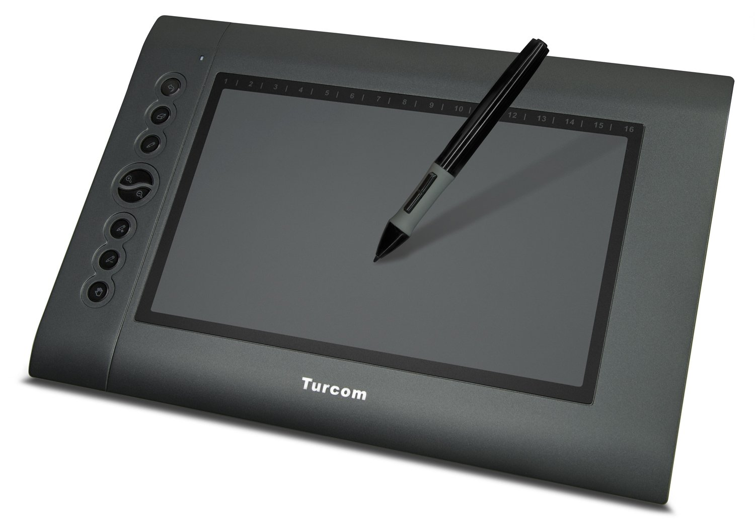 Turcom 10 x 6.25 Inches Graphic Drawing Tablet (TS-6610H)