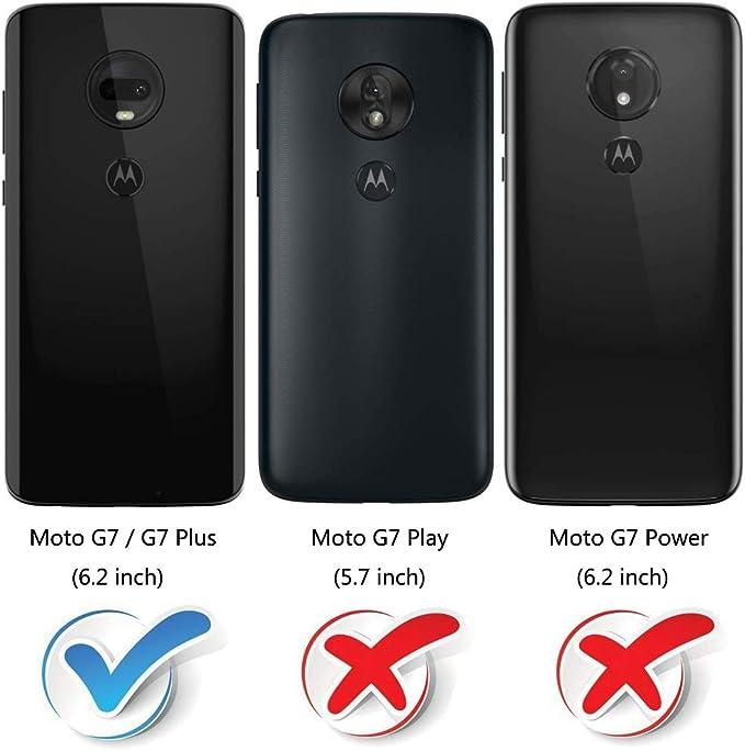 MOBESV Funda para Motorola Moto G7, Funda Libro Motorola Moto G7 Plus, Funda Móvil Motorola Moto G7 Magnético Carcasa para Motorola Moto G7 / G7 Plus Funda con Tapa, Negro: Amazon.es: Electrónica