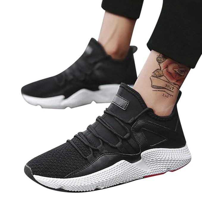 JiaMeng Zapatillas para Correr Zapatos Ligeros y Transpirables de Malla Respirable Zapatillas Aptitud Ligero Deportes Zapatos para Correr: Amazon.es: Ropa y ...