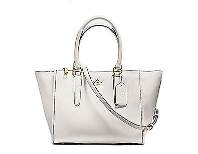 618d1c96865b1 Coach Crossgrain Leather Crosby Carryall Purse -  F14928  Handbags   Amazon.com