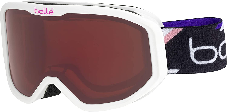 White Purple Matte//Rosy Bronze Cat.3 Boll/é Inuk Masques de ski B/éb/é Unisexe Extra Small