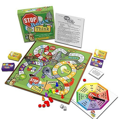 Stop, Relax & Think: A Game to Help Impulsive Children Think Before They Act (Game Consequences)
