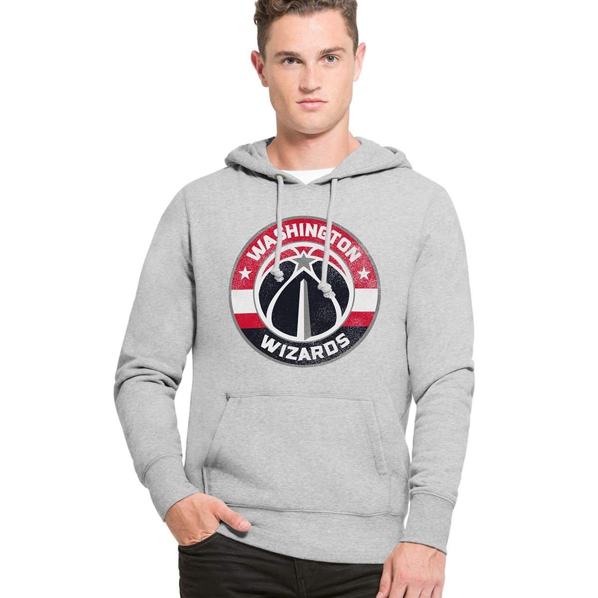 '47 Brand Washington Wizards Knockaround Hoodie NBA Sweatshirt