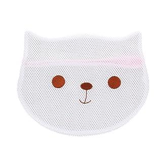Starter Bolsa de ropa de cabeza de animales bordados de dibujos animados Bolsa de ropa de poliéster engrosada bolsa de lavandería
