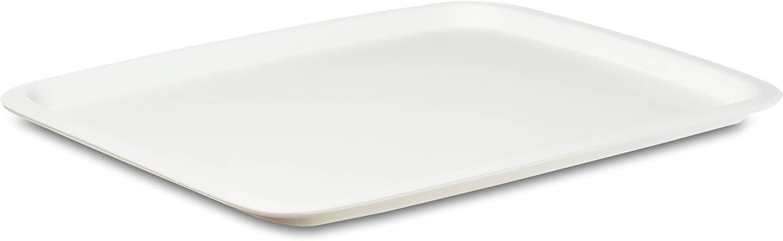 Rosti Mepal - Bandeja Rectangular (42,5 x 33 cm), Color Blanco