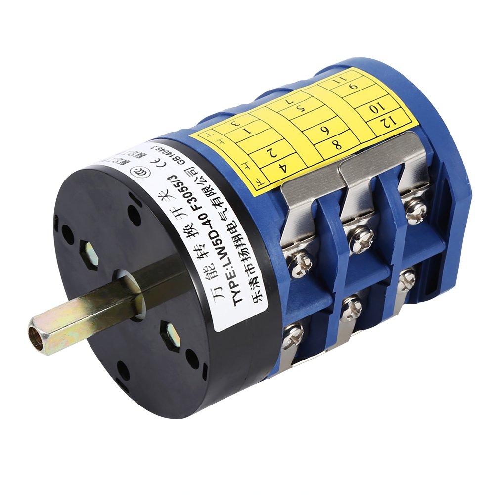 Alomejor Tire Changer Switch, 220V/380V Tire Changer Machine Motor Forward Reverse Switch Turn Table Pedal Tool by Alomejor (Image #2)