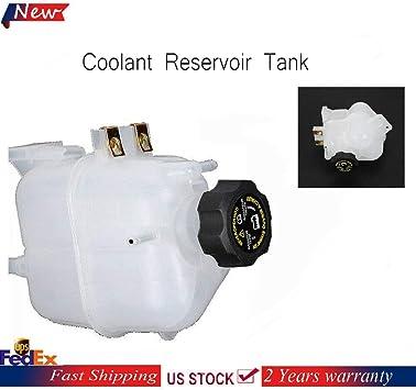 Radiator Coolant Overflow Tank Spark Reservoir Recovery Bottle  /& Cap 95352005