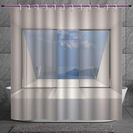 Review SCOCICI Cool Shower Curtain