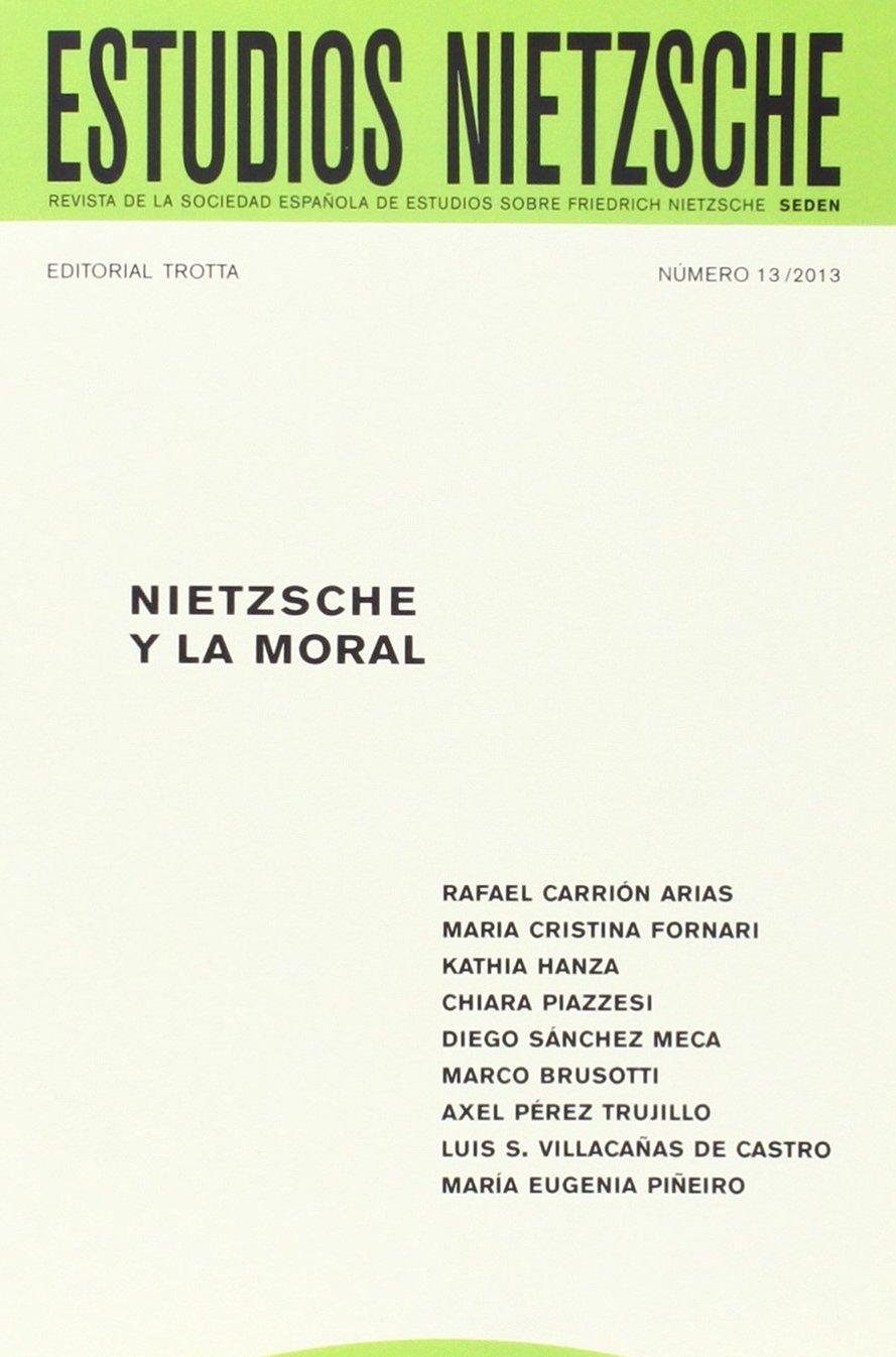 Estudios Nietzsche 13: Revista de la Sociedad Española de Estudios sobre Friedrich REVISTAS PERIODICAS: Amazon.es: Vv.Aa.: Libros