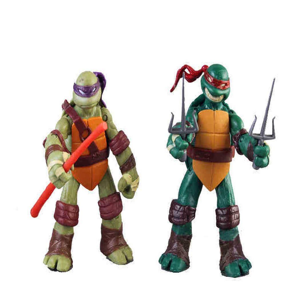 LU-DOLL TMNT Tortugas Ninja 4 Piece Set Figura De Acción De ...