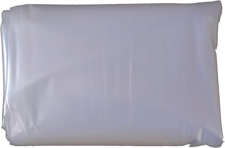 10Mx2M 30Mu thick Ashnook Clear Polythene Plastic Sheeting