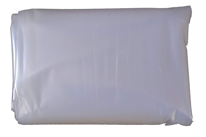 Clear Polythene Plastic Sheeting - 5Mx2M - 80Mu thick Tenax