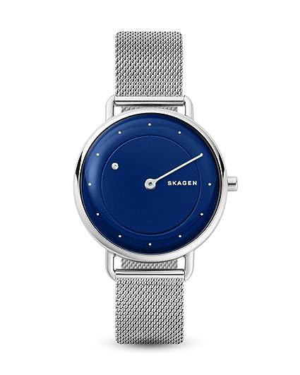 Skagen Reloj Analógico para Mujer de Cuarzo con Correa en Acero Inoxidable SKW2738: Amazon.es: Relojes