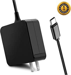 FVW USB C Charger 65W USB C Power Adapter Universal Type C Laptop Charger 65W USB C PD Wall Charger Adapter for Dell/HP/Lenovo/Thinkpad/ASUS/Acer/MacBook Pro 12,13 Inch/Nintendo Switch or More