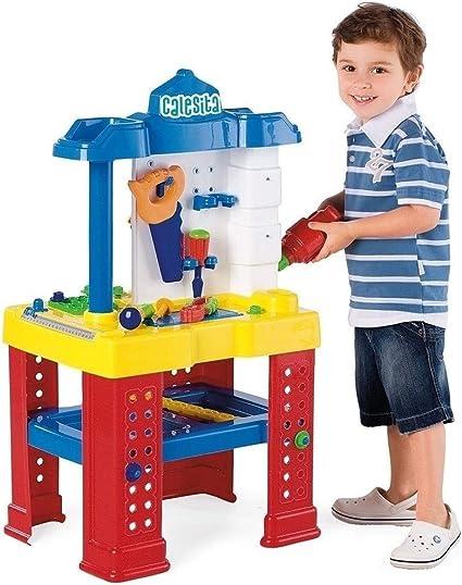 Bancada De Trabalho Calesita Amazon Com Br Brinquedos E Jogos
