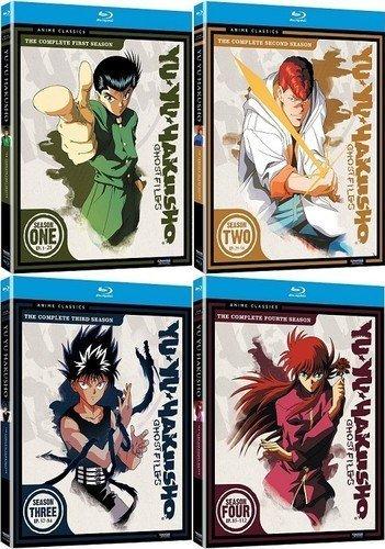Yu Yu Hakusho Ghost Files, Complete Seasons 1-4 by