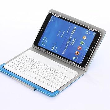 """Para desmontable teclado Bluetooth para IOS, Android y Windows Tablet de 7 """"-"""