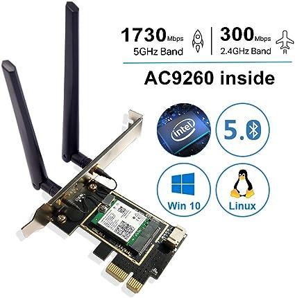 Amazon.com: Gigabit(+) 802.11AX 2976Mbps Bluetooth 5.0 PCIe ...