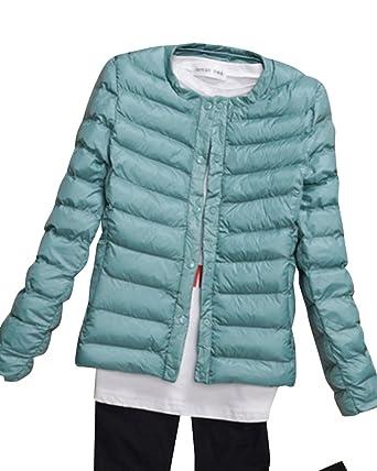 finest selection 9b3fe dc84a Kasen Donna Giacche Corto Piumino Cappotto Ultraleggeri Trapuntato Packable  Inverno Giacca