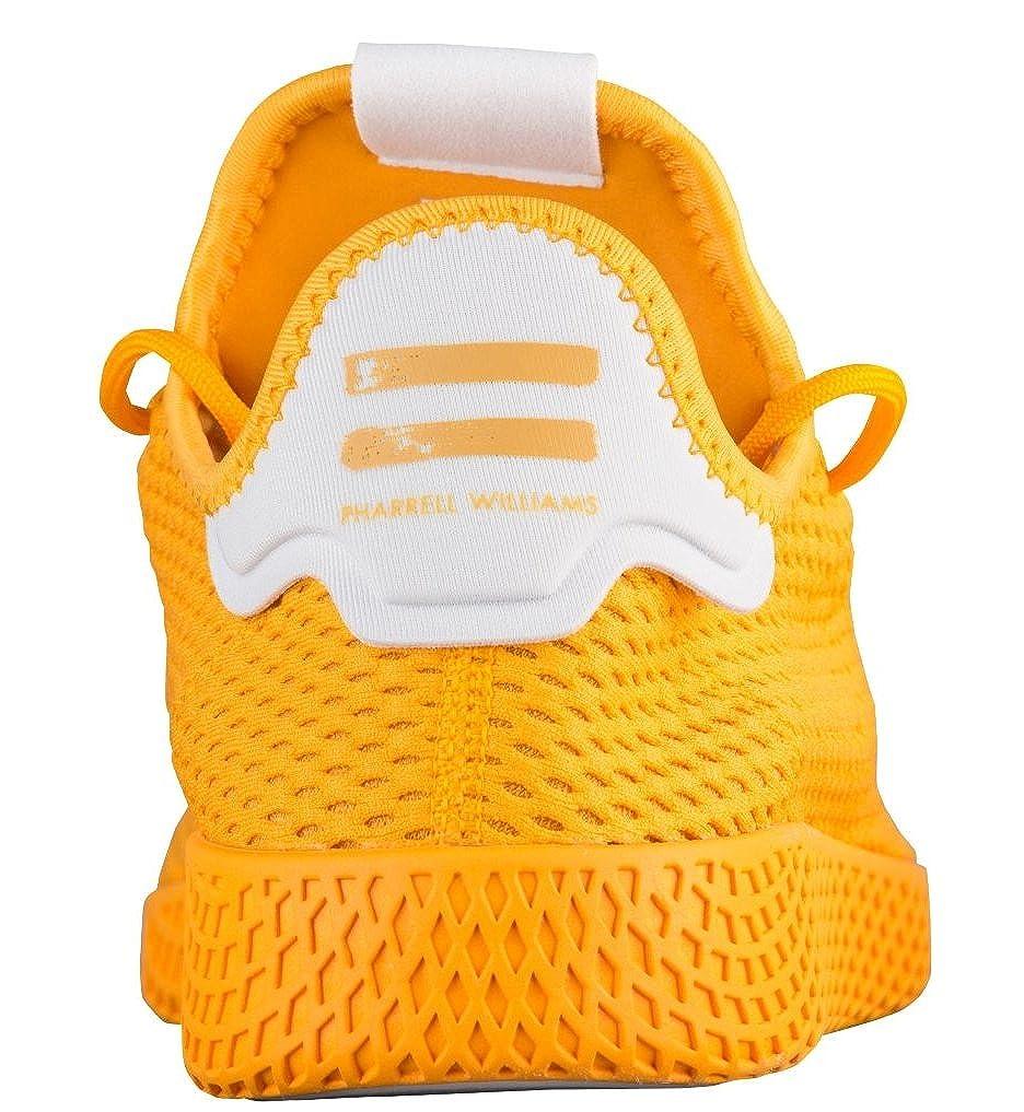 Adidas Pharrell Sneaker Williams Tennis Hu M228;Dchen Sneaker Pharrell Weiß Gelb fb0219