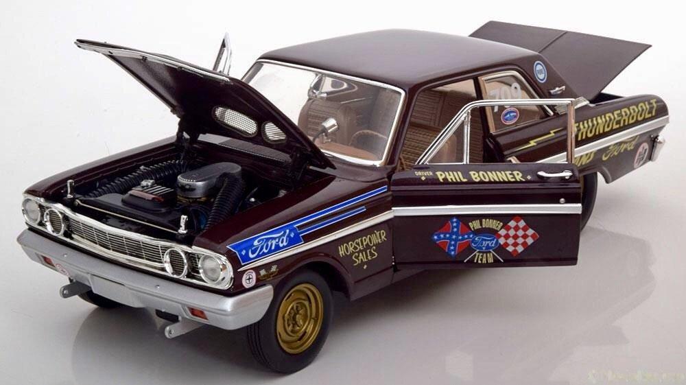 Auto World – aw219 – Ford Thunderbolt – 1964 – Echelle 1/18 – Braun