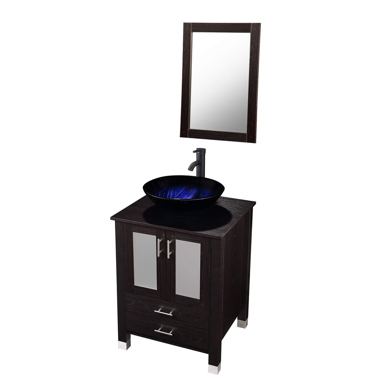 CHEAP 24 inch Bathroom Vanity and Vessel Sink with Vanity ...