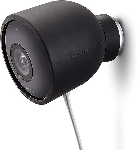 Opinión sobre Fundas de Silicona de Color para cámara de Seguridad de Exterior Nest CAM – Protege y camufla, Fundas de Silicona Resistentes a Rayos UV e Impermeables de Wesserstein (1 Pack, Negro)