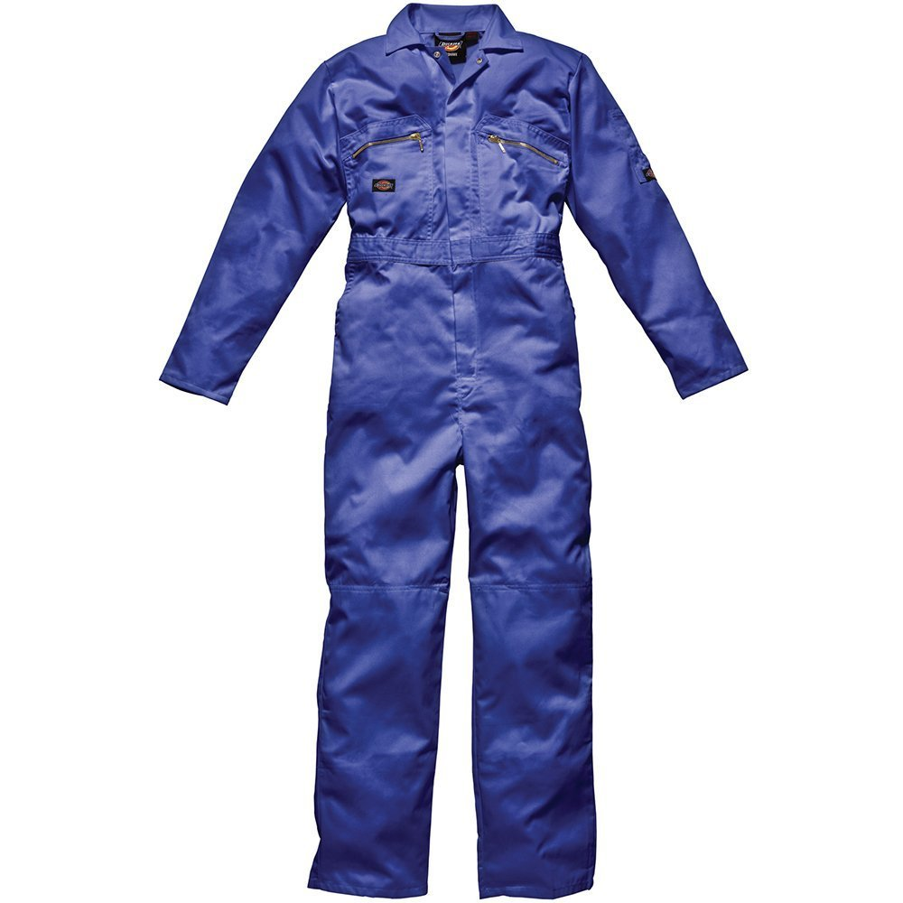 rosso Dickies Overall Redhawk con chiusura lampo WD4839 RD 42R