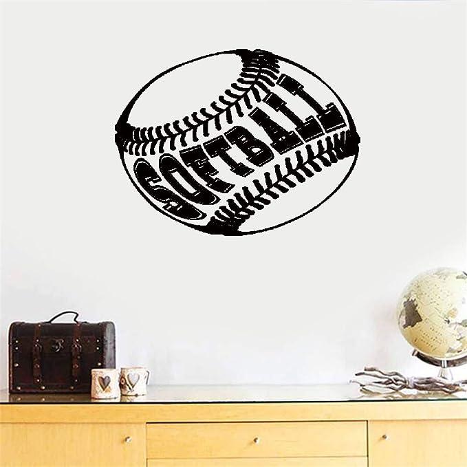 pegatinas de pared tortugas ninja Pelota de Softbol Letras ...