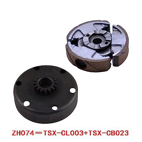 Amazon.com: FLYPIG Complete Clutch Set Pad Basket Flywheel for KTM 50 Junior Senior Mini SX PRO LC: Automotive