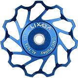 Lixada Jockey Wheel Cambio Trasero Polea Tensora para MTB Mountain Bike de 7075 Aleación de Aluminio 11T