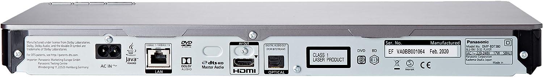 sous r/éserve de disponibilit/é WiFi int/égr/é Panasonic DMP-BDT380 Lecteur Blu-Ray intelligent multi-r/égions pour DVD conversion 3D et DLNA Miracast mise /à niveau 4 K Comprend HDMI et un titre