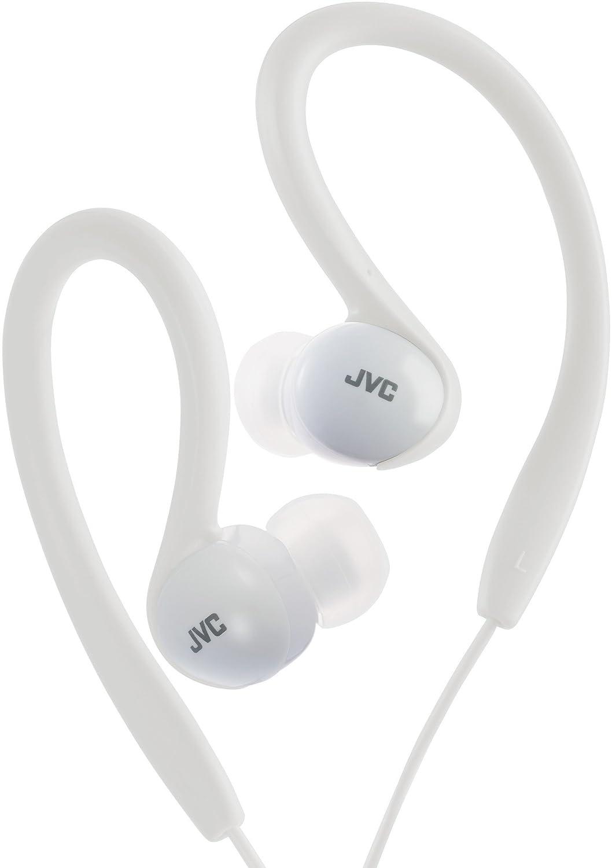 JVC HA-EBX5-W-E - Auriculares deportivos de clip flexible: Amazon ...