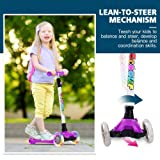 BELEEV Kick Scooter for Kids 3 Wheel Scooter for