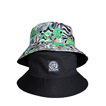 37b4853f96e AJOG Sun Hat Reversible Fishing Hat Foldable Cotton Bucket Hat Unisex Mens  Ladies Outdoor Hat  Amazon.co.uk  Sports   Outdoors