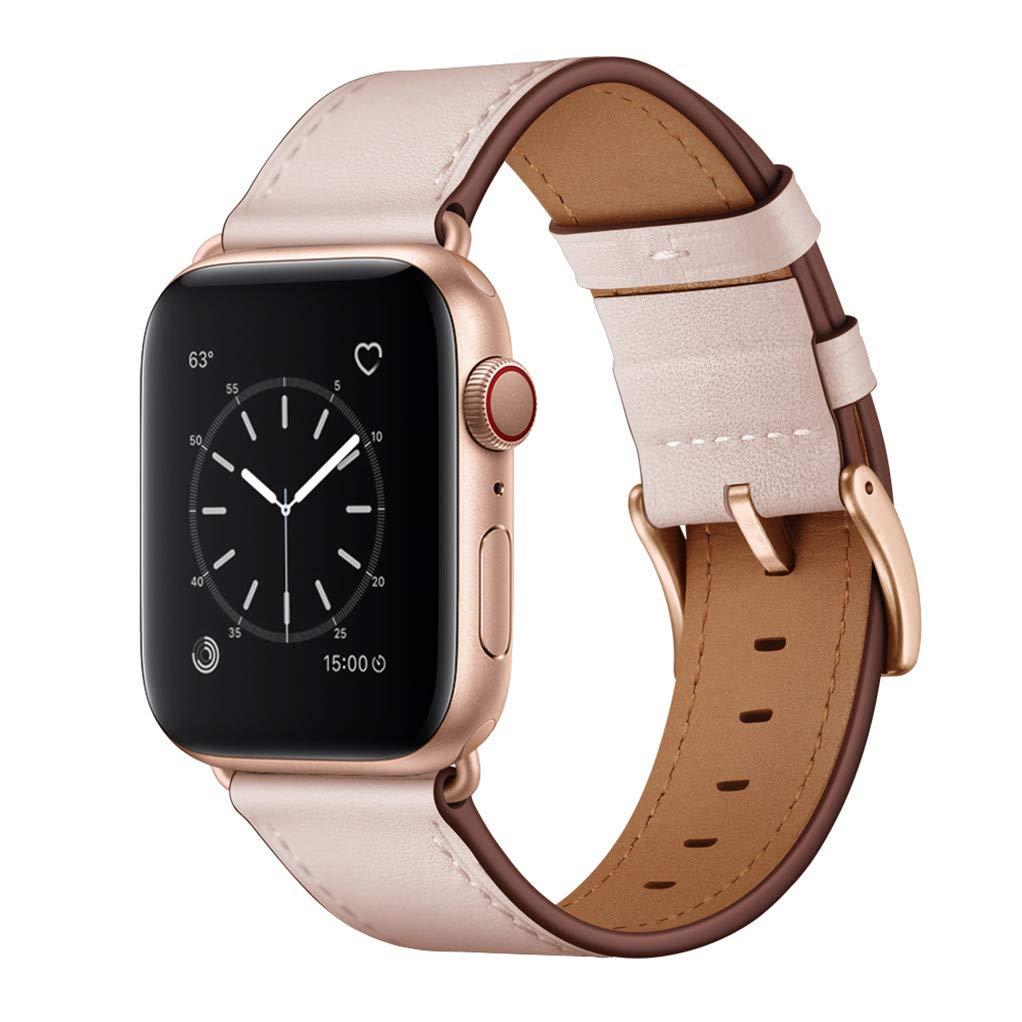 Malla Cuero para Apple Watch (38/40mm) OUHENG [7XJN7NF1]