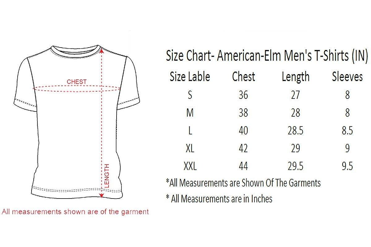 mens t shirt size chart us - Zepan