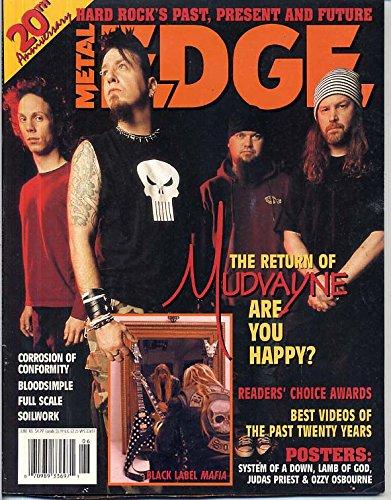 Metal Edge Magazine MUDVAYNE Lamb of God OZZY -