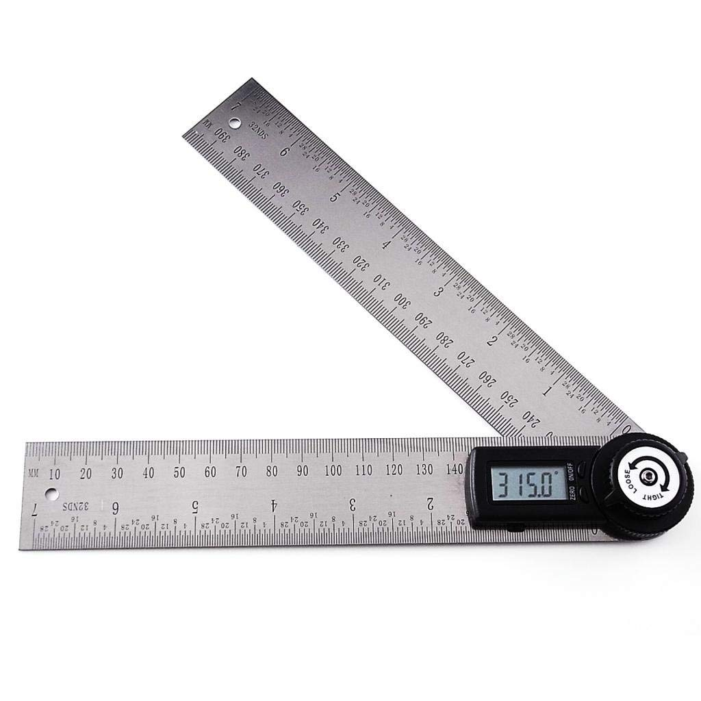 GX PRO Digital 2 in 1 Angle Finder Meter Protractor Ruler 400mm