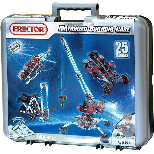 Erector Motorized Building Case by Erector