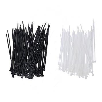 250 Stück Kabelbinder 10Zoll selbstschließend Nylon Zip Ties Kabel Organizer