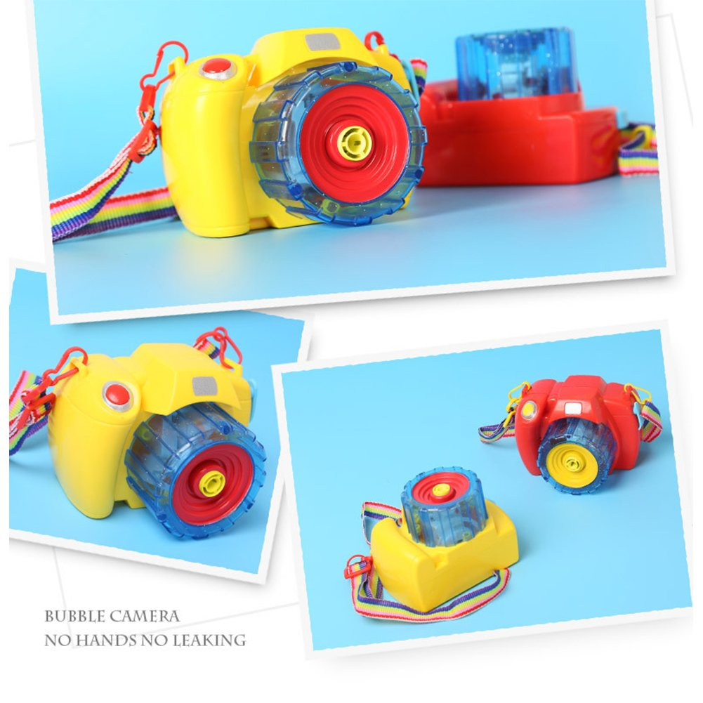 Creative Camera Design Electric Bubble Gun with Music Perfect Gift for Kids by RONSHIN (Image #4)