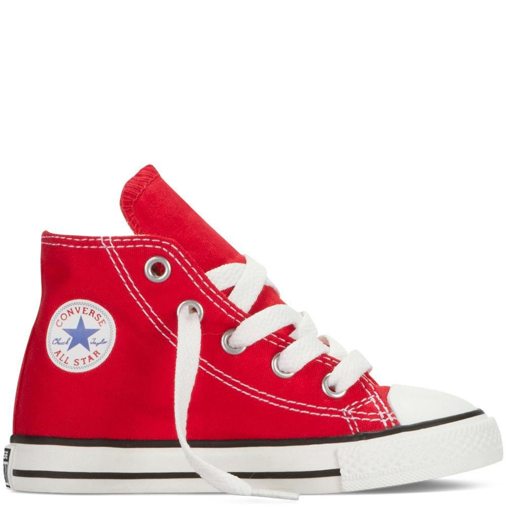 Converse Kids Chuck Taylor Classic Hi Red Sneaker - 10.5 by Converse (Image #7)