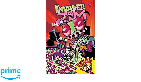Invader Zim Vol. 1: Deluxe Edition Invader Zim Deluxe ...